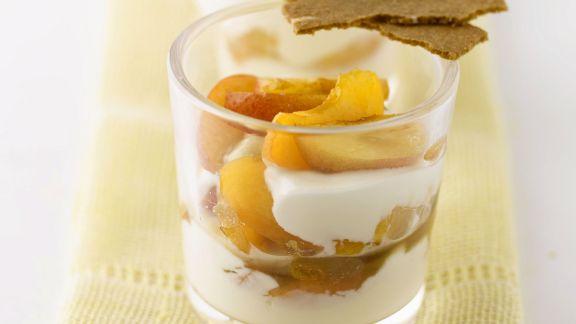 Rezept: Apfel-Joghurt-Creme