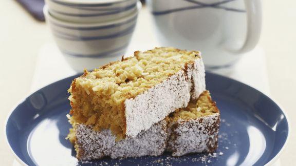 Rezept: Apfel-Kokos-Kuchen