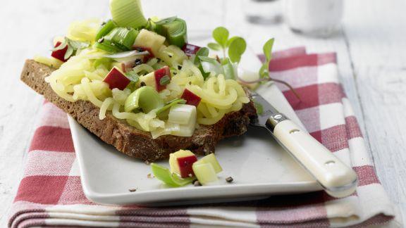 Rezept: Apfel-Majoran-Brote
