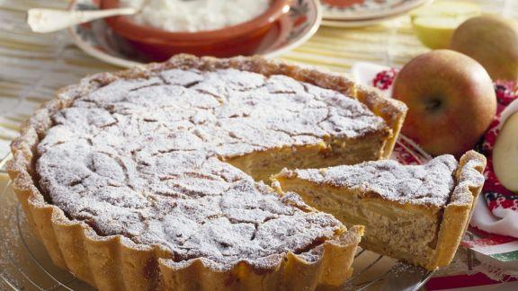 Rezept: Apfel-Mandel-Kuchen nach ungarischer Art