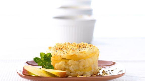 Rezept: Apfel-Milchreis-Gratin