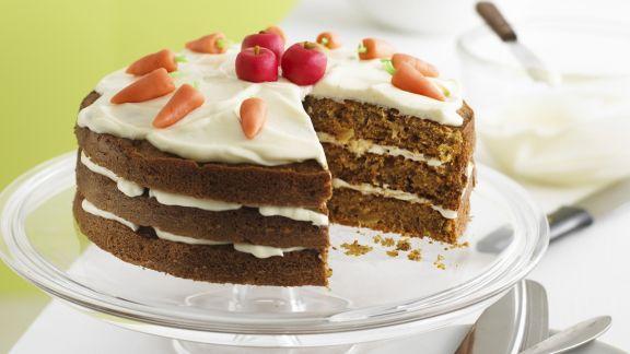 Rezept: Apfel-Möhren-Torte