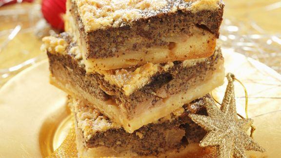 Rezept: Apfel-Mohnkuchen