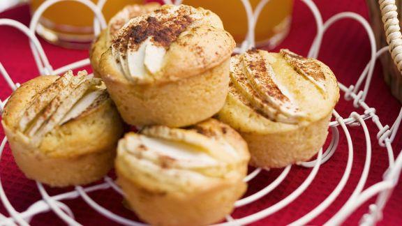 Rezept: Apfel-Muffins mit Zimt