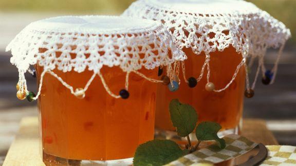 Rezept: Apfel-Paprika-Konfitüre