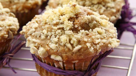 Rezept: Apfel-Sonnenblumen-Muffins