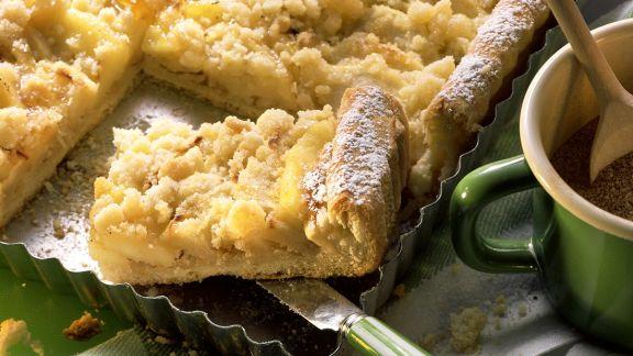 Rezept: Apfel-Streuselkuchen