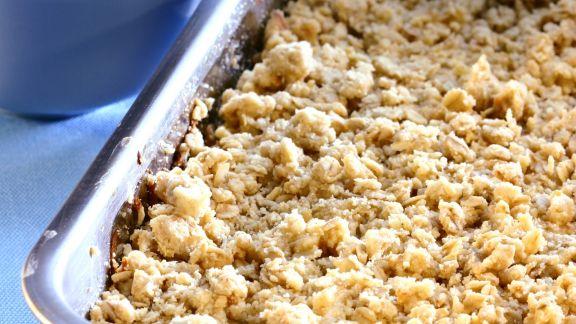 Rezept: Apfelauflauf mit Streuseln (Crumble)