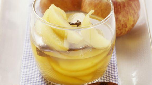 Rezept: Apfelkompott mit Calvados