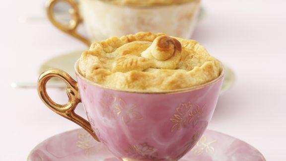 Rezept: Apfelkuchen in der Tasse