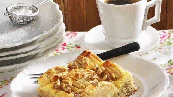 Rezept: Apfelkuchen mit Marzipan