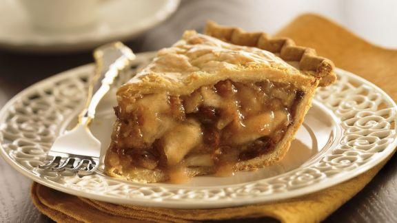 Rezept: Apfelkuchen mit Walnüssen und Rosinen