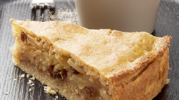 Rezept: Apfelkuchen mit Zimtsahne