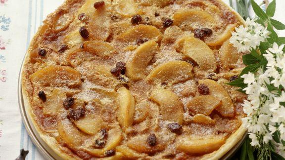 Rezept: Apfelkuchen nach Schweizer Art