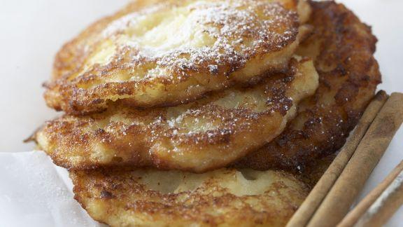 Rezept: Apfelküchlein mit Zimtzucker