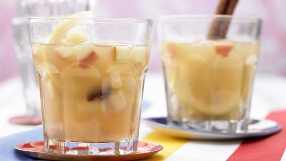 Rezept: Apfelpunsch mit Rosinen
