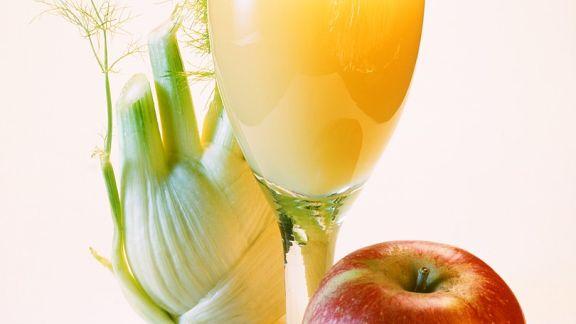 Rezept: Apfelsaft mit Sellerie