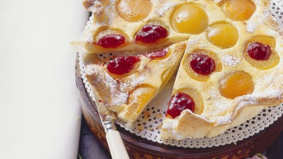 Rezept: Aprikosen-Blätterteig-Kuchen