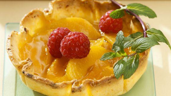 Rezept: Aprikosen-Himbeer-Tartelettes