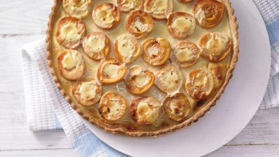 Rezept: Aprikosen-Joghurt-Tarte