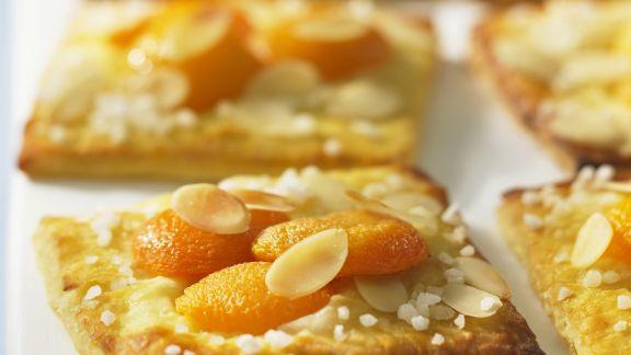Rezept: Aprikosen-Schnitten