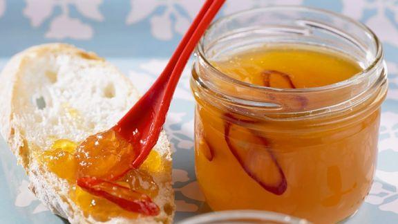 Rezept: Aprikosengelee mit Chili