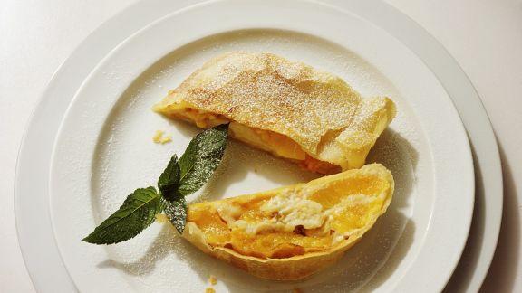 Rezept: Aprikosenstrudel
