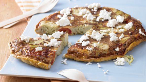 Rezept: Artischocken-Tortilla