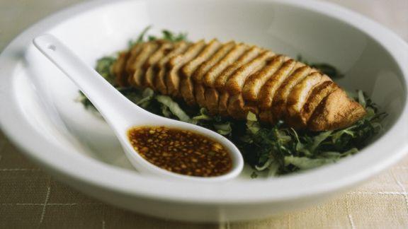 Rezept: Asiatische Entenbrust mit Sauce