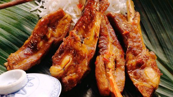 Rezept: Asiatische Schweinerippchen