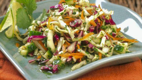Rezept: Asiatischer Gemüsesalat