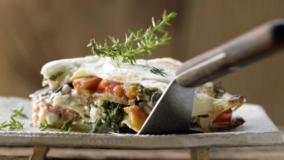 Rezept: Auberginen-Lasagne