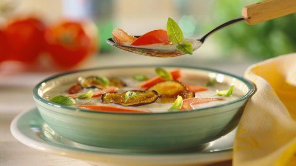 Rezept: Auberginensuppe