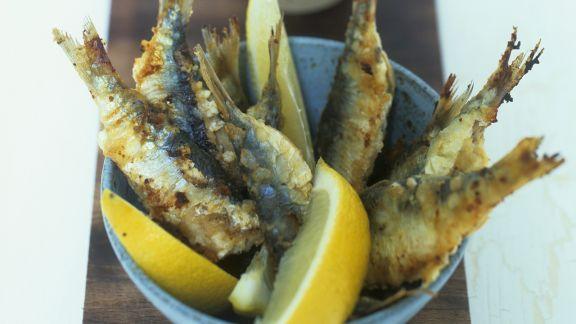 Rezept: Ausgebackene Sardinen