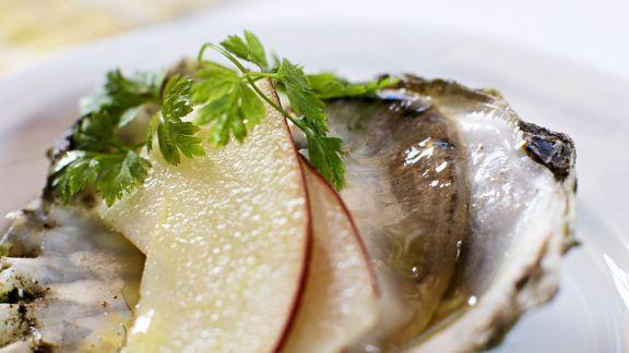 Rezept: Auster mit Apfel