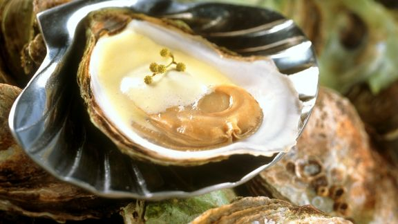 Rezept: Austern mit Sabayon
