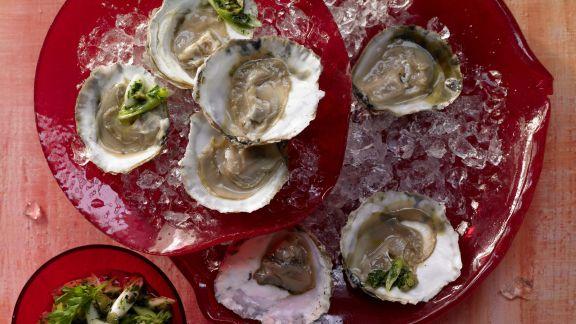 Rezept: Austern mit Petersilien-Salsa-Verde – smarter