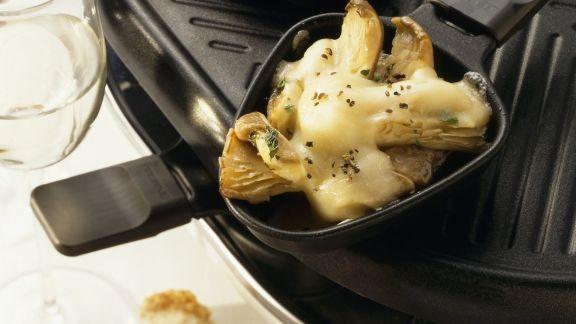 Rezept: Austernpilzkappen mit Knoblauch