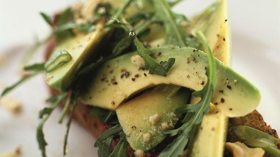 Rezept: Avocado auf Vollkornbrot