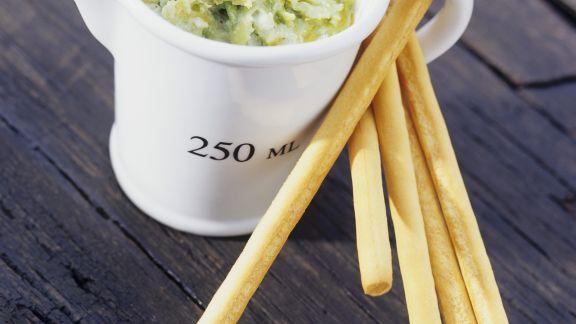 Rezept: Avocado-Käse-Dip