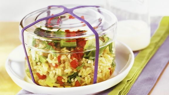Rezept: Avocado-Reis-Salat