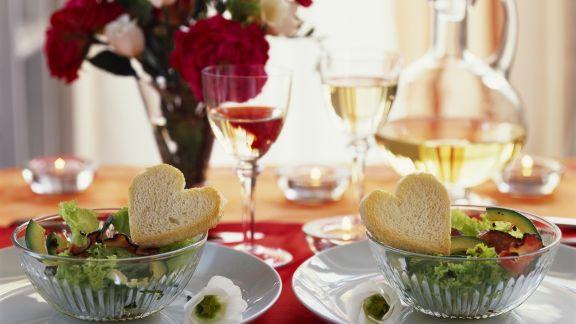 Rezept: Avocadosalat zum Valentinstag