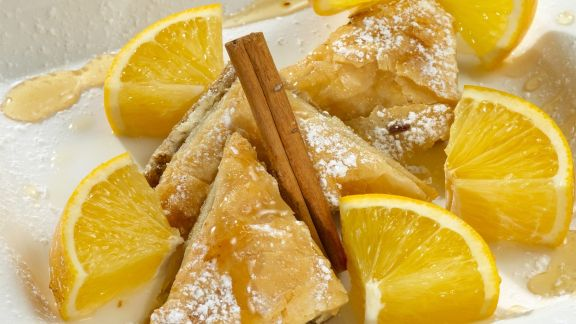 Rezept: Baklava mit Orangen