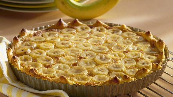 Rezept: Bananen-Tarte