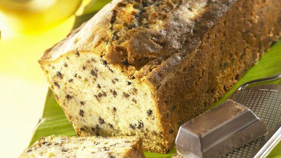 Rezept: Bananenkuchen mit Schokostückchen