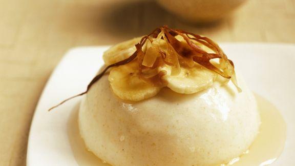 Rezept: Bananenpudding mit Karamell