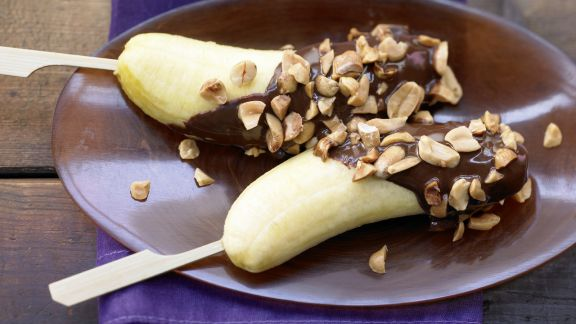 Rezept: Bananenspieße