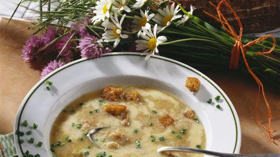 Rezept: Bayerische Brotsuppe