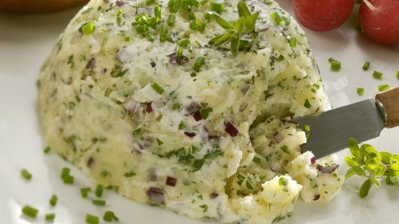 Rezept: Bayrischer Kartoffelkäs