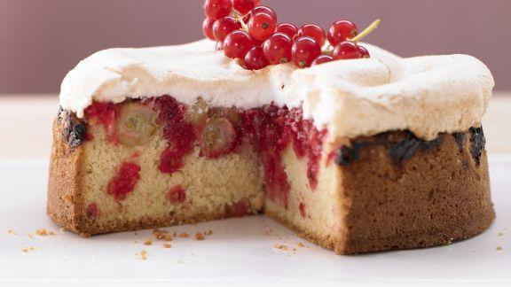 Rezept: Beeren-Baiser-Kuchen